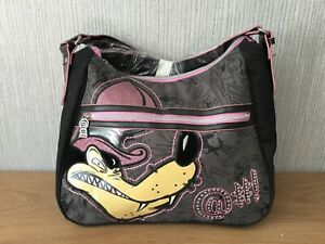 Disney / Looney Tunes Porky Pig Wolf Bag New Warner Bros Overnight Larger