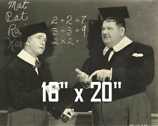 "Laurel & Hardy~Chump at Oxford~Photo~Poster~ 16"" x  20"""