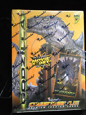 Godzilla Supervue Premium Trading Cards 36 Packs From Inkwork Free Shipping