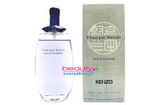 L'eau Par Kenzo Pour Homme (Original Formula) 3.4oz EDT Spray Men's Cologne RARE