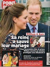 POINT DE VUE N° 3300--KATE & WILLIAM & ELISABETH II/MARIAGE ROI DU BHOUTAN