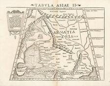 1552 Ptolemaic Map of Asian Sarmatia