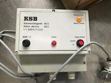 KSB Alarmschaltgerät AS5  / Nr 00530561/0 sehr guter Zustand