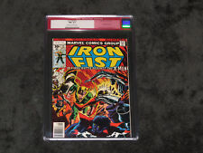 IRON FIST 15 1ST BUSHMASTER 9.2 CGC CLAREMONT BYRNE X-MEN WOLVERINE LOT 1 14 94
