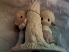 Thee I Love Jonathan & David Enesco 1979 E3116 I love you carved in tree new