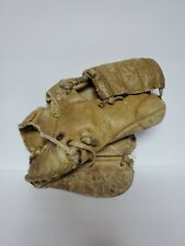 Vintage Leather Baseball Glove Great Decorative Piece
