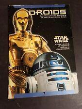 Star Wars Drone 17 Month Calendar 2002-2003