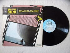"LP VARIOUS ""Bruitage Cinéma Vol. 2 - Aviation - Marine"" PATHE 2C 054-16032 FR §"
