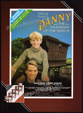 Roald Dahl_DANNY, CHAMPION OF THE WORLD__Orig. 1989 Trade AD promo__JEREMY IRONS