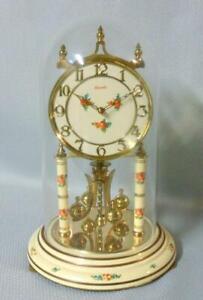 Vintage Kundo 400 Day Anniversary Clock Roses