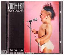 ZUCCHERO FORNACIARI RISPETTO **PRIMA EDIZIONE** 1986 Made In Italy RARA OTTIMO