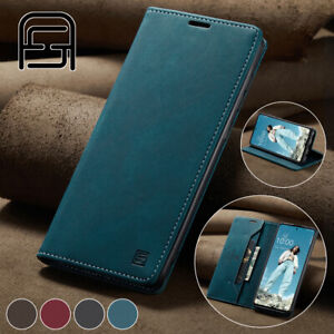 Fr Samsung Galaxy A72 A52 A42 A32 A12 5G Magnetic Flip Wallet Leather Case Cover