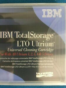 1 NEW IBM 35L2086 LTO-5 Universal Cleaning tape Cartridge for LTO1-5 drives