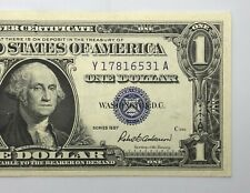 1957 Silver Certificate 1$ Dollar Note Uncirculated (P220)
