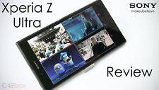 "New *SEALED* Sony Xperia Z Ultra C6833 6.4""  LTE Unocked Smartphone/Black/16GB"