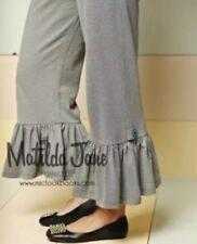 EUC Womens Matilda Jane Good Hart School's out big ruffle Pants Size S Small