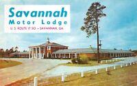 Savannah Motor Lodge & Restaurant US 17 Ga