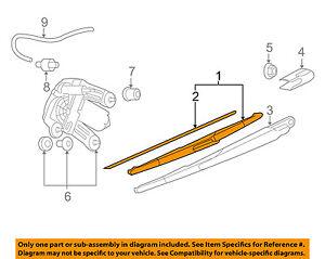MINI OEM 07-13 Cooper Wiper-Rear Window Blade 61622754285