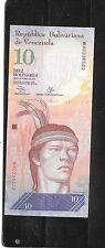 VENEZUELA #90d 2013 UNC  10 BOLIVARES BANKNOTE PAPER MONEY CURRENCY BILL NOTE