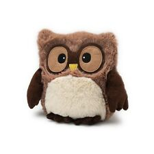 Intelex Soft Warmies Owl Brown Microwavable Plush Bed Time Warmer Teddy Heatable