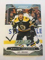 UPPER DECK 2019 - 2020 MARCUS JOHANSSON # 8   1 CARD