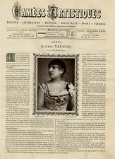 Goupil, France, Camées Artistiques, Noémie Vernon vintage print Photoglyptie