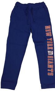 New York Giants Men's small Game Time Drawstring Blue Lounge Sweatpants