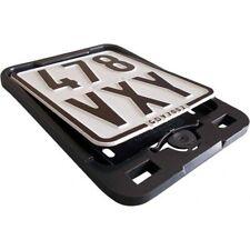 Nummernschild Click Verstärkung schwarz license plate reinforced black PK ST50-8