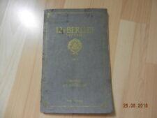 Notice d'entretient 12 HP BERLIET 3 vitesses 1924
