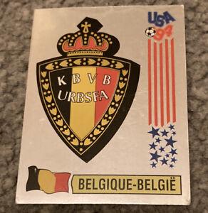 Panini Fifa World Cup USA 1994 Belgium Logo Foil Badge WC 94