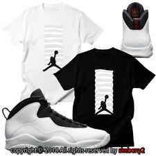 CUSTOM T SHIRT Air Jordan 10 I'm Back By MJ's 1995 matching TEE JD 10-2-12