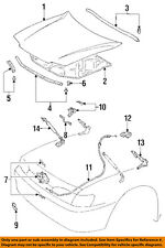 Lexus TOYOTA OEM 92-94 ES300 Hood-Strut Support Cylinder Right 5344039065
