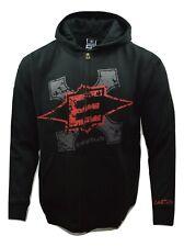 Easton Gothic Black Full Zip Adult Graphic Hockey Hoodie Sweatshirt size Medium