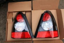 For Subaru Forester STI Style Black Tail Lights JDM Style SG5 SG9 Pair