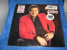 """MICKEY GILLEY """"Back To Basics"""" USED 1987 Epic LP NM/NM   [INV-23]"""