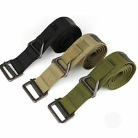 Men's Army Tactical Belt Military Outdoor Sport Training Nylon WaistBelt Strap n