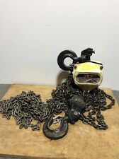 Used JET SMH-3T-30 3-Ton Hand Chain Hoist With 30' Lift