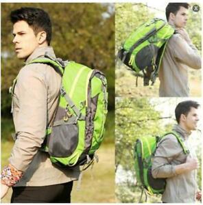 Mochila impermeable de 45 litros mochila de senderismo bolsa de camping.