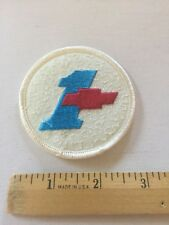 Chevrolet Patch Embroidered , Vintage Rare Chevy Patch Awesome