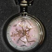 The NIGHTMARE BEFORE CHRISTMAS jack skellington quartz pocket watch