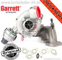 Original Garrett Turbolader 757042-5018S NEU 125kw 170PS Audi VW Seat Skoda NEW