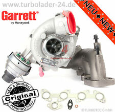 Original Garrett turbocompresor 757042-5018s nuevo 125kw 170ps AUDI VW SEAT SKODA New