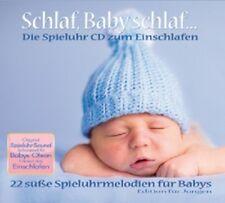 Schlaf, Baby schlaf...Spieluhr Melodien CD Einschlafen NEU Jungen Edition