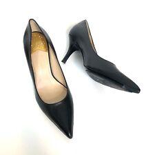 Cole Haan Black Pumps Kitten Heel Pointy Toe Size 6 B