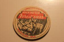 Vintage Milk Bottle Cap Help Prevent Forest Fires