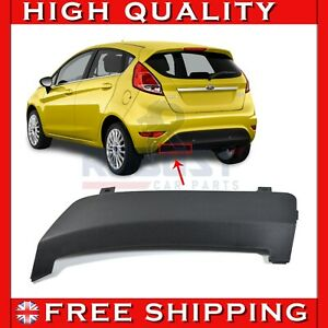 FOR FORD FIESTA MK7 REAR BUMPER TOW TOWING EYE HOOK COVER CAP (2008-2016)