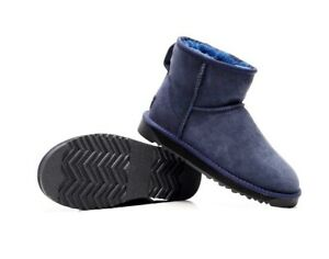Mini Ankle Classic Boots, Premium Sheepskin Size 4- 13 Winter