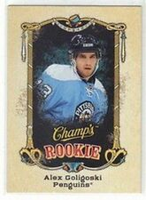 ALEX GOLIGOSKI PITTSBURGH PENGUINS 2008-09 UD CHAMP'S ROOKIE #140