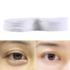 100Pcs Disposable Eye Mask Ultrathin Cotton DIY Natural Cotton Eye Paper Mask _E
