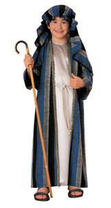 Shepherd Child Costume Religious Medieval Renaissance Theme Party Christmas Play